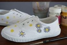 ZAPATILLAS DECORACION = Painted Shoes