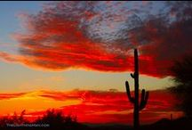 Arizona Sunsets / Our gorgeous sunsets is what Tucson & Arizona is known for! Come and stay with us and see it all for yourself!
