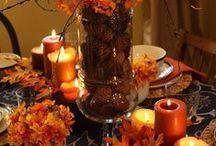 Autumn & Halloween / Autumn crafts, Autumn decorating ideas, Halloween crafts, Halloween decorating ideas