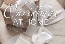 """Christmas At Home"""" book by Stylist Sandra Kaminski"""