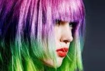 Crazy Coloured Hair