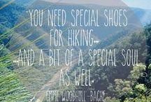 WIJ ♥ WANDELQUOTES / Mooie filosofische quotes over wandelen, wij houden ervan! Jij ook?