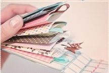 Mini Albums & File Folder Albums / file folder albums, and mini albums made from tags and envelopes