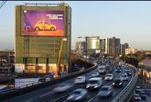 Cars ♥ Giant Posters / Automotive brands using Giant Posters to advertise OOH with blowUP media.