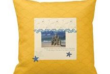 Pillows, Aprons, Napkins & More / beautiful gift items designed by Marcy Coate: pillows, aprons, napkins, mugs, t-shirts, bags, and much more