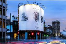 East London ♥ Giant Poster / With 6 Giant Poster locations in the centre of one of the trendiest areas of London, blowUP media are well equipped to impact on this buzzing area and engage with its receptive audience.