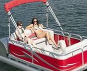 Pontoon Boats / A somewhat redneck but luxurious nevertheless way to travel around the lake in the summertime
