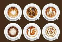 Inspiratie | Koffie&Thee / Wij houden van het rust momentje bij de koffie en thee, maar wij houden stiekem nog meer van echt goede koffie en het mooie servies dat daar bij komt kijken!