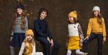 """Коллекция """"Осень-Зима 2016"""" / Коллекция ОСЕНЬ-ЗИМА16/17 вдохновлена тематикой осеннего леса. Богатая цветовая гамма с акцентом на пряный жёлтый и глубокий бордовый поддержана современными 3D текстурами в стеганном трикотаже и пушистыми фактурами кружева и искусственного меха. Коллекция включает модели для девочек 2-6 и 7-12 лет. Для малышек можно собрать яркий гардероб для детского сада. А для старших девочек ассортимент в духе street fashion - пальто,свитшоты,джинсы и юбки, декорированные бахромой и нашивками."""