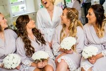 Real brides in their wedding robes / Wedding robes from The Little Lovebird