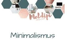 Minimalismus / Weg mit dem unnötigen materiellem und menthalen Balast! Minimalismus schafft Platz im Raum und im Kopf. Vereinfache dein Leben - Simple Living! Less is more! Zeit statt Zeug.