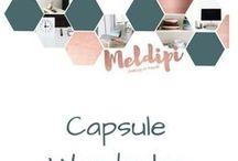 Capsule Wardrobe / Die Capsule Wardrobe ist ein minimalistischer Kleiderschrank bestehend aus wenigen sehr gut miteinander kmbinierbaren Kleidungsstücken für die Saison. Wie es geht siehst du hier.