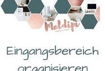 Eingansbereich organisieren / Schaffe Ordnung im Flur mit einem organisierten Einganzsbereich.