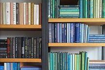 * Bookshelves *