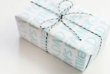 Wrapping ideas / Who doesn't love a beautifully wrapped present?
