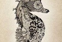 Mandala, Zentangle, Art, Expression, Inspiration / Expression and inspiration through art.