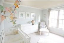 * Dreamy Nurseries * / Cute, calm, colourful and playful. Style and Inspiration for nurseries.