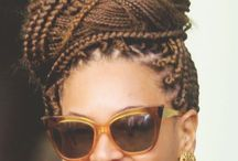 TRECCINE AFRO - BRAID/BOX BRAID/SENEGALESE TWIST/HAVANA TWIST/ / Treccine Afro in tutta la loro bellezza e stile