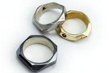 Lattice Series + Rings / Lattice Series Rings from Third Eye Assembly | @TEAjewelry