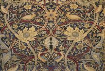 Art - Prints - William Morris & May  Morris / Textile paterns - fabrics, embroideries, rugs