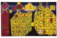 Art - paint&archit - Friedensreih Hundertwasser / Painter and architect Friedensreich Hundertwasser