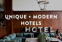 unique & modern hotels / unique hotels, modern hotels, contemporary hotels, cool boutique hotels