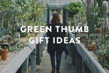 gift ideas for garden lovers / green thumb gift ideas, green thumb gifts, gardening gift ideas, gardening gift basket ideas