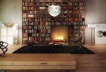 Bookshelves/Libraries / by DAW