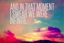 Baby we're infinite....
