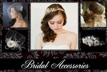 Bridal Veils and other bridal accessories. / Wedding Veils, bridal headpieces, bridal belts, bridal jewelry.