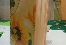 Mis artesanías / encuadernaciones, tejidos, macramé