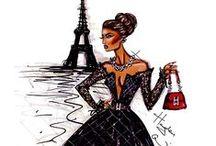 Fashion sketches / Fashion drawings and designs