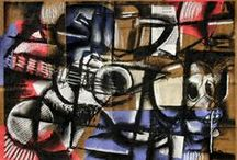 Cubist Still Life Drawings and Paintings