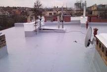 Ploché střechy / Ukázky našich rekonstrukcí plochých střech.