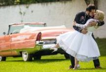 Rock'n'roll brides and grooms