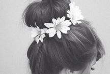 Hair and beauty / Beautiful hairstyles and make-up things to maybe try once