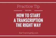Dictation and Transcription Tips