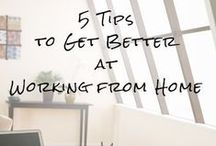 Work from Home and Time Management Tips / Are you a work from home transcriptionist? Or just work from home in general? Do you have difficulty getting things done or keeping your focus due to constant distractions? This Pinterest board is full of time management tips and articles to help you get back on, and stay on track with your work from home career.