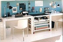 Work From Home Office Ideas / Do you work from home everyday? Do you have a hard time focusing or staying on track due to lost paper work, multiple distractions, and an overall low quality work environment? This Pinterest board is full of great ideas for making your office space not only more attractive, but much more functional as well.