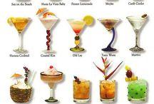 Summer Cocktails / Des boissons fraîches, originales pour l'été !