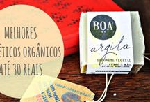 Cosméticos naturais e orgânicos / Bio organic cosmetics - Cosméticos naturais e Orgânicos para cabelos, e cuidados com a pele (Skincare)