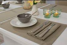 Gartentischdecke Farbe Nougat mit Fleckschutz / Naturelle Farben für den Gartentisch! Verschönern Sie Ihren Gartentisch mit schimmel- und schmutzresistenten Stoffen. Lassen Sie Ihre Tischdecke draußen liegen! Die UV-Beständigkeit schützt vor dem ausbleichen durch die Sonne.