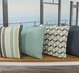 Gartentischdecken - Tischwäsche für Draußen / Fleckgeschützte Tischdecken für den Außenbereich. UV-Beständig und Lichtecht - kein ausbleichen durch die Sonne. Schimmelresistent und Antibakteriell.