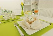 Stoffservietten - dekorieren und falten / Ideen zum dekorieren und falten für Servietten.  Servietten aus verschiedenen Materialien, die mit der richtigen Tischdecke und Tischdekoration ein schönes Ambiente auf den Tisch bringen.