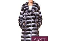 Chinchilla Fus Jackets, Coats & Vests / http://www.avantifurs.com/store/category/fur-types/chinchilla/