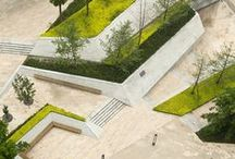 LANDSCAPE ARCHITECTURE / Design / Outdoor / Public / Areas / Public / Structures / Environment / Green / Aesthetic