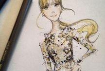 i l l u s t r a t i o n s / Fashion / Style Sketches  / by Fallon Carmichael | Sage + Sparkle