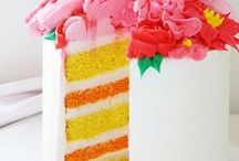 CAKE INSPIRATION / Cake ideas for birthday parties, weddings and social events!