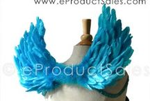 Wings & Designs With Color / Wings With Color Handcrafted at eproductsales.com