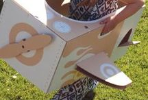 Make it with Cardboard / by Pj Hart Photos